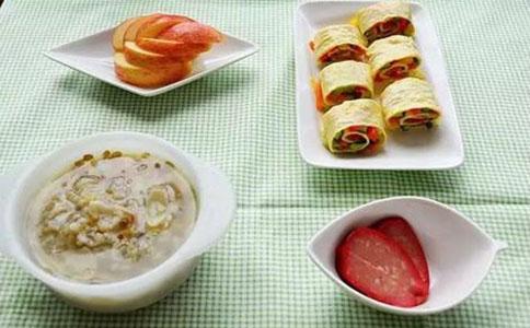 自制小学生营养早餐